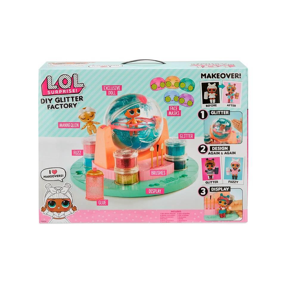 Ігровий набір із лялькою LOL - Фабрика магії!